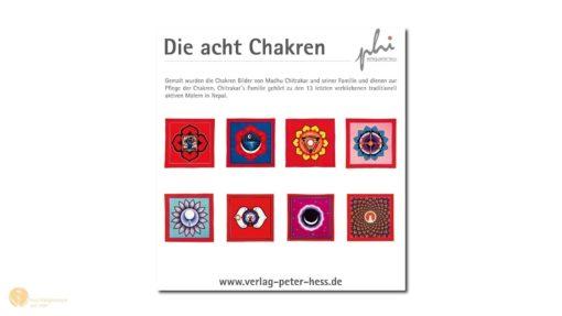 hess-klangkonzepte - Poster: Die acht Chakren, Verlag Peter Hess